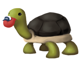 The Turtle of Infinite Derp by AnimeVSReality