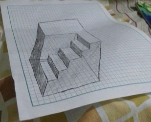 Anamorphic cube part 2! by Endermen1000