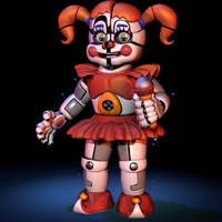 Circus Baby New Render! - [FNaF:SL] by ChuizaProductions