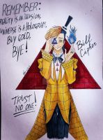 GF: Bill Cipher - trust no one! by LadyGatto