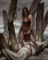 Red Sonja - Watersport by DonatoArts