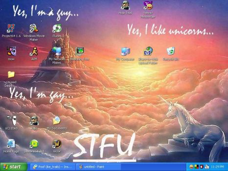 Current Desktop by Calamoo