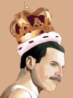 Freddie Mercury by Misaky