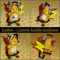 Raiden Custom Raichu Figurine