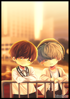 BTS: J hope and Suga by IciaChan