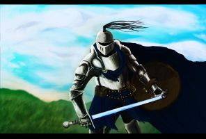 Blue Knight by interstellarian