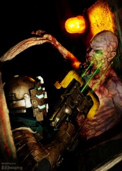 DEAD SPACE Cosplay with Necromorph SKSProps by SKSProps