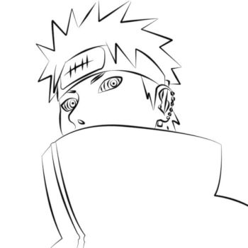 Pain Lineart by marcelosgc