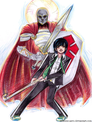 TCom : Hideo and Galahad by Reckless-Pyro