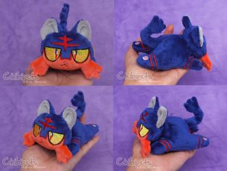 Litten Custom Chibi Doll by Chibi-pets