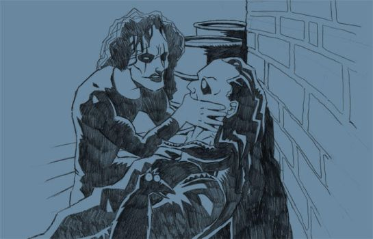 10 Free Sketches - 01 The Crow by punkrockbboy