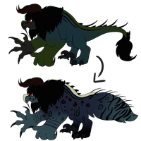 Danger beast changes by Rosedraq