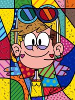 Leni Loud (Britto Style) by FaxtronOfficial