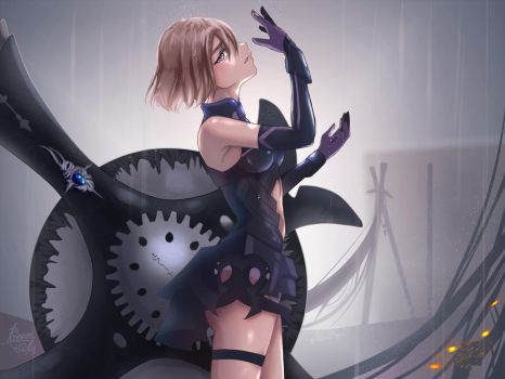 Mashu Kyrielite (After Battle) by Poleron402