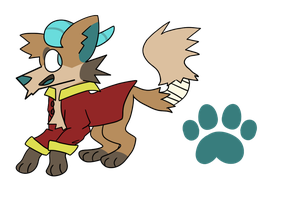 Pirate Canine Adopt Auction OPEN by FelineK9er