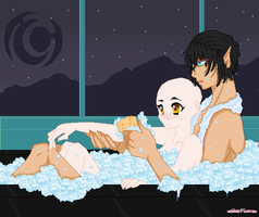Bath Time -open collab- by oOLittlePinkyOo
