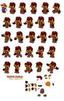 Louis v2 (Paper Mario Color Splash Recut) by DerekminyA