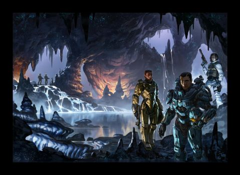 Halo Last Light Cover by Koryface