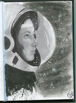 Astronaut by Axuww