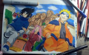 Team 7! by MasashiRaiden