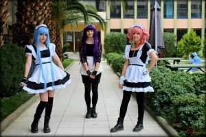 Welcome to our Maid Cafe! by DEATHNOTE---L