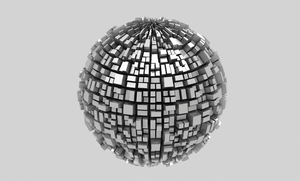 Metalic Modern Ball by Tebh-stock