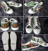 Depeche Mode Shoes by Tiofrean
