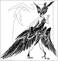 Bird of Ill Omen by QueenGwenevere