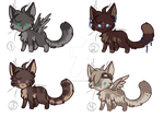 Kitty Point Adoptables I IIOPENII by StarryEvening