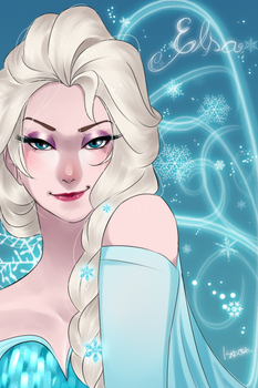 The cold never bothered me anyway by Isaddesu