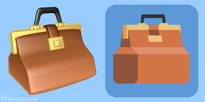 Icons - 3D and 2D (flat design) by m7