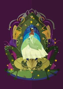 Taina , The princess and the frog by poohdit
