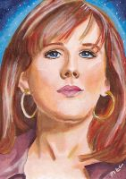 Donna Noble by Purple-Pencil