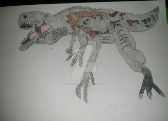 Carcharodontosaurus by DragonFly188