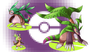 Chespin's Evolutions by ToPpeRa-TPR