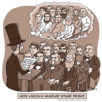 A new Sketchbook Silliness cartoon: Lincoln by cedricstudio