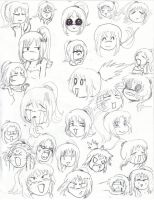 Mini Mona Expressions by Lein744