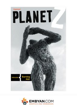 Planet Z - Magazine Cover (no3) by embyan