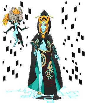 Midna Diorama by ScepterDPinoy