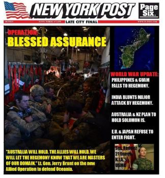 WW3 Media: Post Blessed Assurance by peacekeeper76