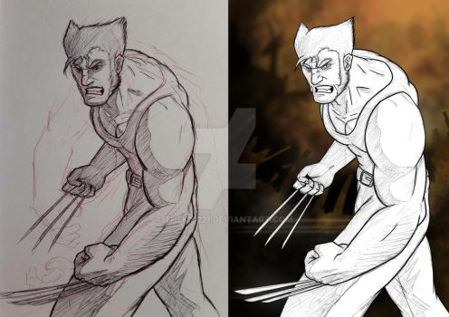 the Wolverine WIP by TheKid221