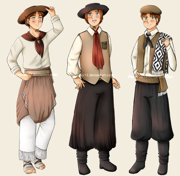 More outfits by Floryblue12