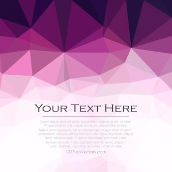 Dark Purple Polygonal Triangular Background Free by 123freevectors
