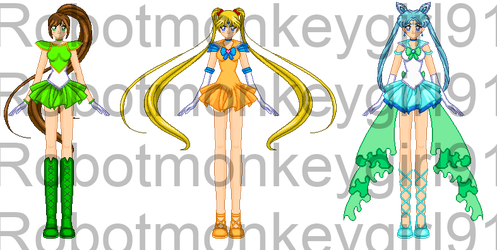 Redone Senshi Contest Entry by StarryKnightPixie