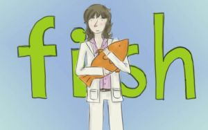Chris Squire's fish plushie by StyloNoir