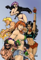 gen 13 colors by brimstoneman34