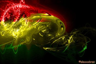 Rasta electric wave by alexxxbran