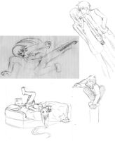 Soul Eater sketches by SeishinOkami
