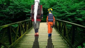 Naruto And Jiraiya by AznFlesh