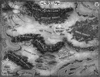 The Lands of Orum by Stormcrow135
